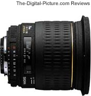 Sigma 20mm f/1.8 EX DG Lens Review