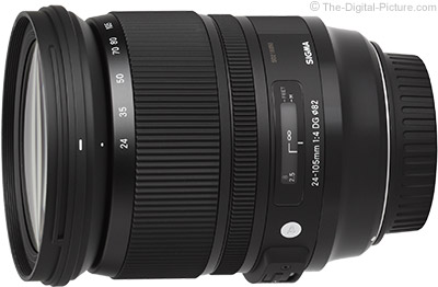 Sigma 24-105mm f/4.0 DG OS HSM Art Lens Review