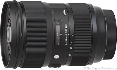 Sigma 24-35mm f/2 DG HSM Art Lens for Nikon In Stock at B&H