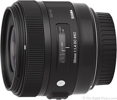 Sigma 30mm f/1.4 DC HSM Art Lens