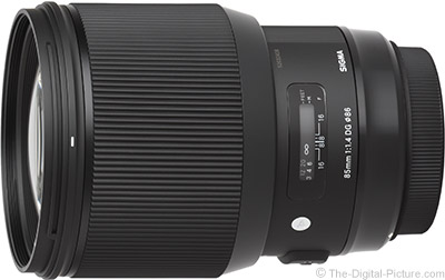 Sigma 85mm f/1.4 Art Lens for Canon In Stock at B&H