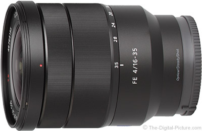 Evaluating Sony FE 16-35mm f/4 ZA OSS Lens Image Quality