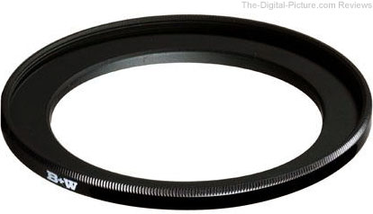Step-Up Filter Adapter Ring