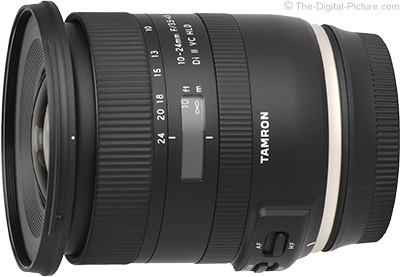 Tamron 10-24mm f/3.5-4.5 Di II VC HLD Lens In Stock at B&H