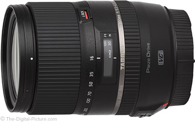 Tamron 16-300mm f/3.5-6.3 Di II VC PZD Now Qualifies for $60.00 Mail-in Rebate
