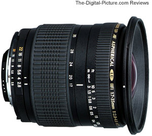 Tamron SP AF 17-35mm f/2.8-4 Di LD IF Lens Review