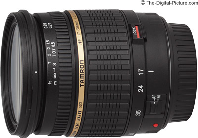 Tamron SP AF 17-50mm f/2.8 XR Di II LD IF Lens Press Release