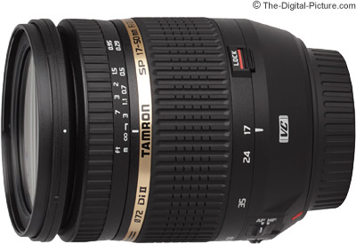 Tamron SP AF 17-50mm f/2.8 XR Di II VC LD IF Lens Press Release