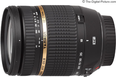 Tamron 18-270mm f/3.5-6.3 Di II VC LD Lens On Camera Comparison