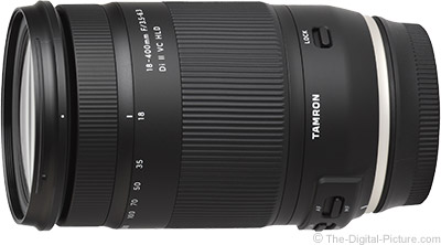 Tamron 18-400mm f/3.5-6.3 Di II VC HLD Lens for Nikon In Stock at B&H