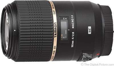 Tamron SP 90mm f/2.8 Di Macro Lens - $544.00 (Compare at $749.00)