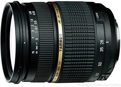 Tamron 28-75mm f/2.8 XR Di Lens Sample Pictures
