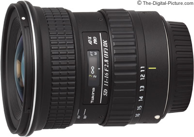 Tokina 11-16mm f/2.8 AT-X Pro DX Lens