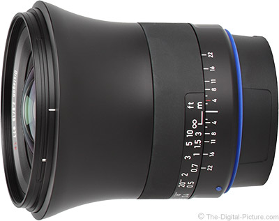 Zeiss 18mm f/2.8 Milvus Lens