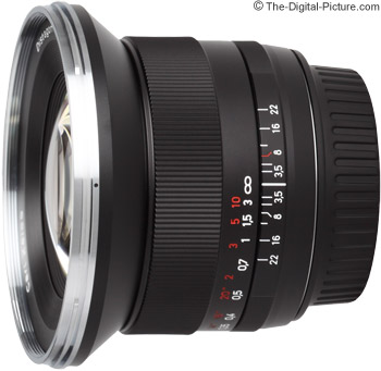 Zeiss 18mm f/3.5 ZE Distagon Lens