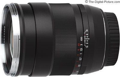Zeiss 35mm f/1.4 Distagon T* ZE Lens Image Quality Comparison