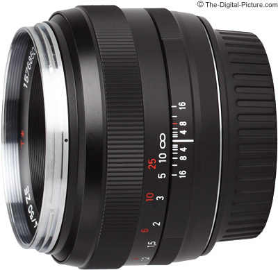 Zeiss 50mm f/1.4 Planar T* ZE Lens Review