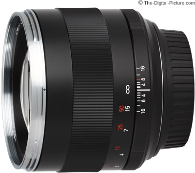 Zeiss 85mm f/1.4 ZE Planar T* Lens Image Quality Comparison