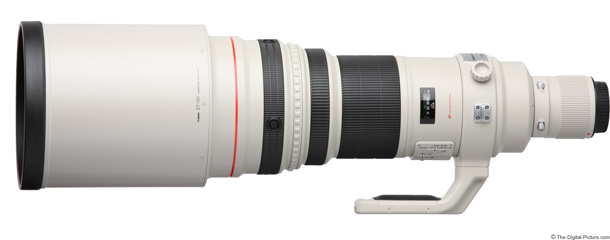 Canon EF 600mm f/4 L IS USM Lens Product Images