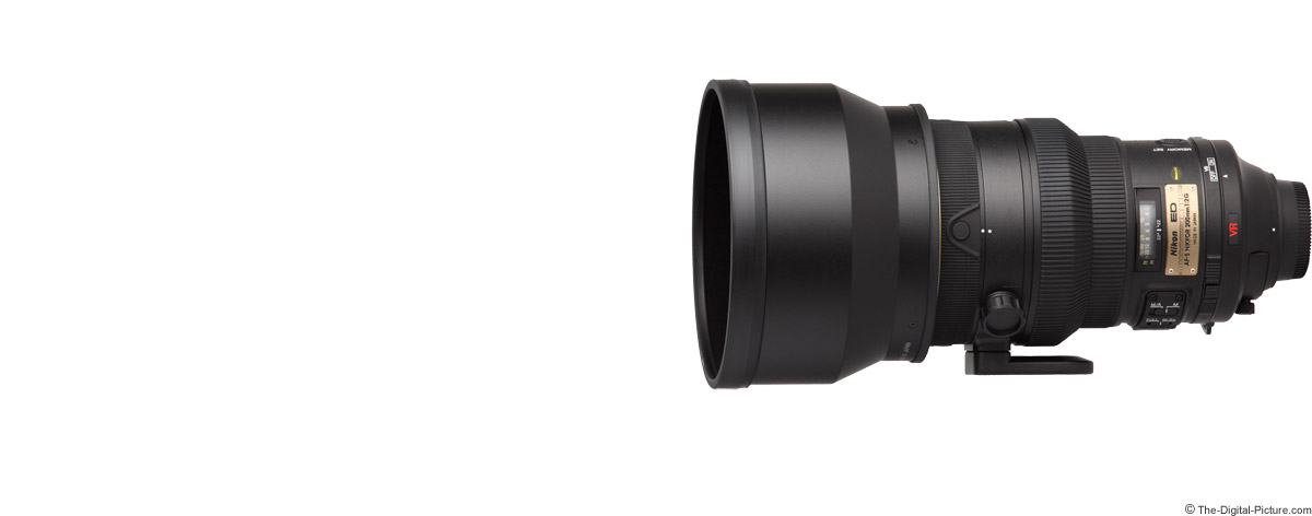Nikon 200mm f/2G AF-S VR Lens Product Images