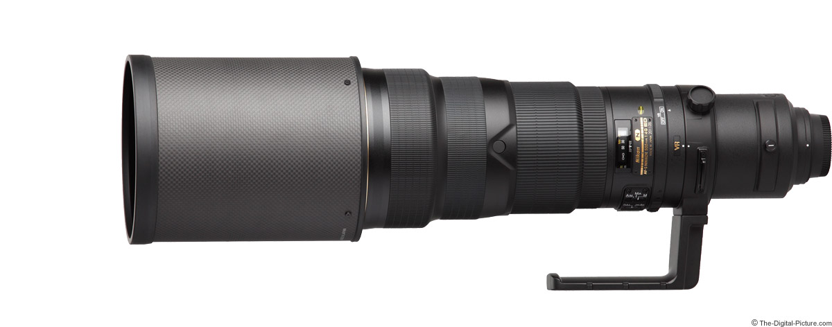 Nikon 500mm f/4G AF-S VR Lens Product Images