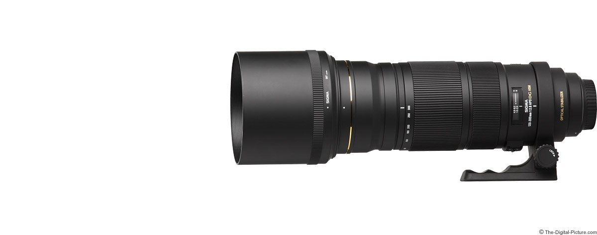 Sigma 120-300mm f/2.8 EX DG OS HSM Lens Product Images