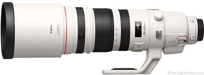 Canon EF 200-400mm f/4 L IS USM Ext 1.4x Lens Product Images
