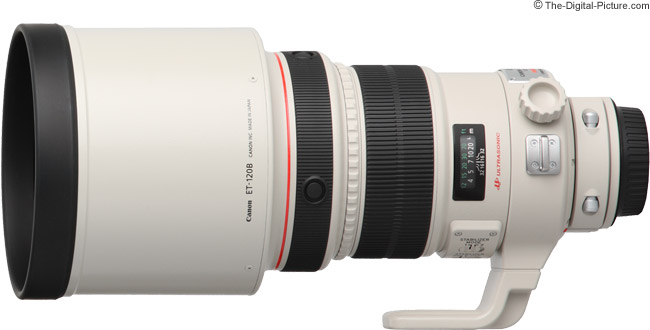 Canon EF 200mm f/2 L IS USM Lens Product Images