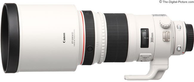 Canon EF 300mm f/2.8L IS II USM Lens Product Images