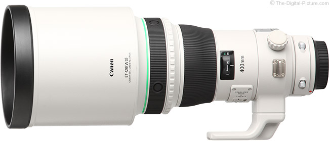 Canon EF 400mm f/4 DO IS II USM Lens Product Images