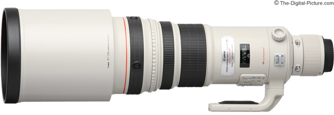 Canon EF 500mm f/4 L IS USM Lens Product Images