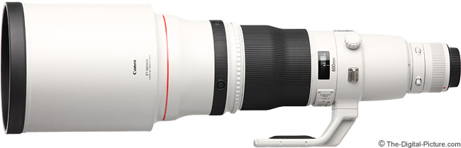 Canon EF 600mm f/4L IS II USM Lens Product Images