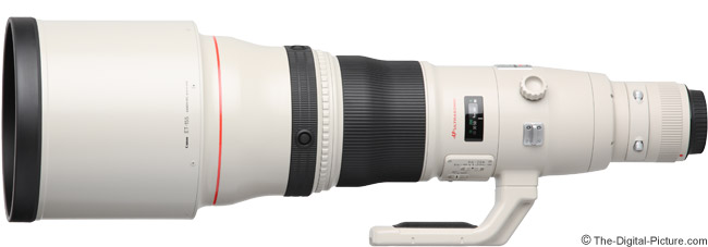 Canon EF 800mm f/5.6 L IS USM Lens Product Images