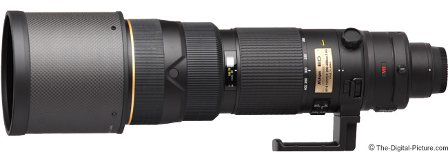 Nikon 200-400mm f/4G AF-S VR Lens Product Images