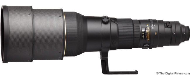 Nikon 600mm f/4G AF-S VR Lens Product Images