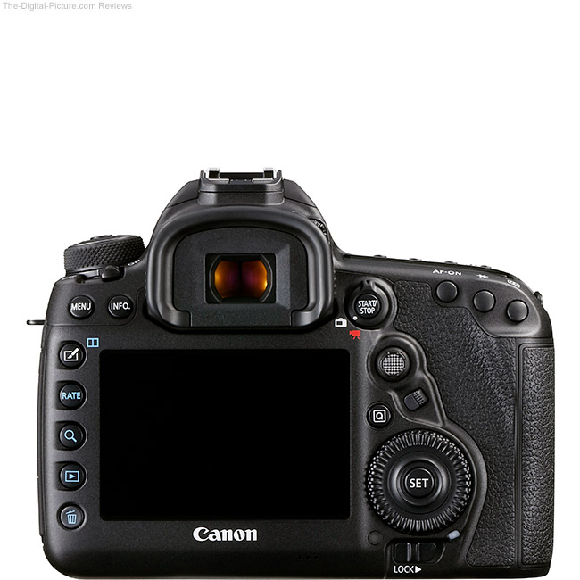 Canon EOS 5Ds DSLR Camera Back View Comparison