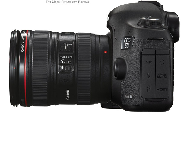 5D III Side View Comparison