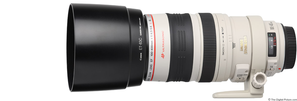Canon EF 100-400mm f/4.5-5.6 L IS USM Lens Product Images
