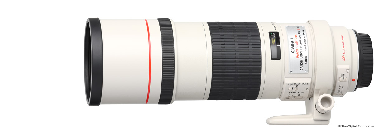 Canon EF 300mm f/4 L IS USM Lens Product Images