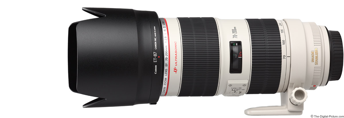 Canon EF 70-200mm f/2.8 L IS II USM Lens Product Images