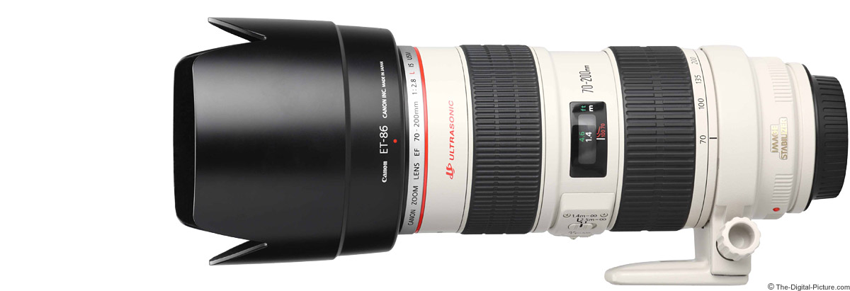 Canon EF 70-200mm f/2.8 L IS USM Lens Product Images