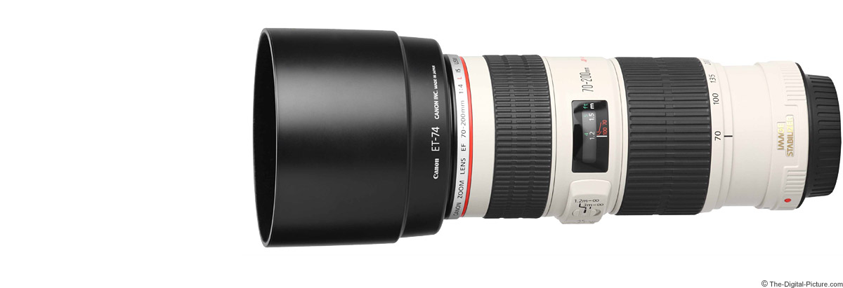 Canon EF 70-200mm f/4 L IS USM Lens Product Images