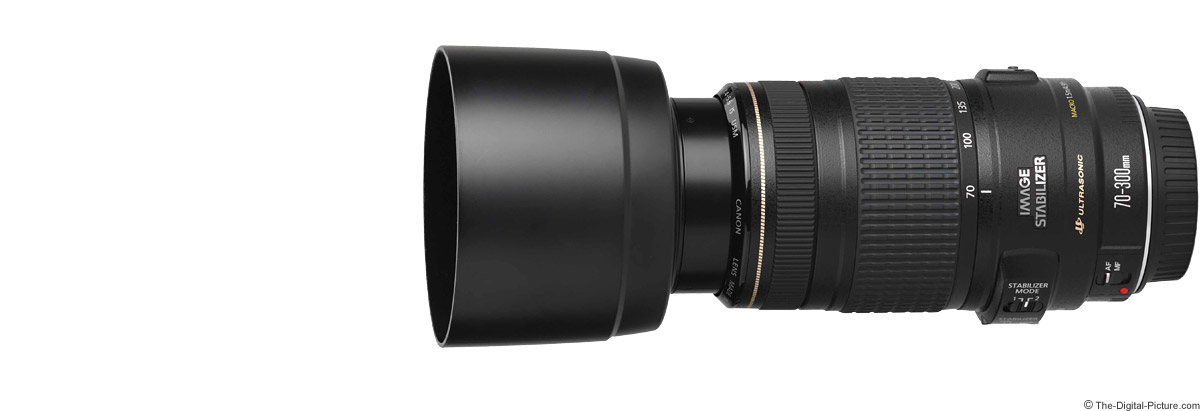 Canon EF 70-300mm f/4-5.6 IS USM Lens Product Images