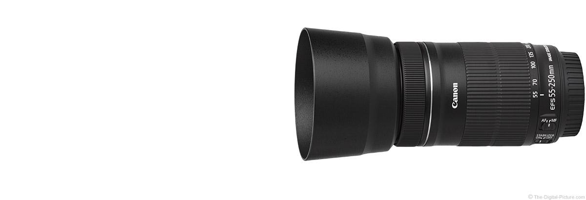 canon ef s 55 250mm f 4 5 6 is stm lens product images. Black Bedroom Furniture Sets. Home Design Ideas