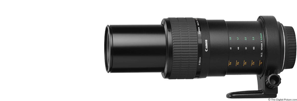 Canon MP-E 65mm Macro Lens Product Images