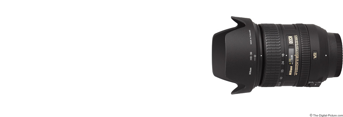 Nikon 16-85mm f/3.5-5.6G AF-S DX VR Lens