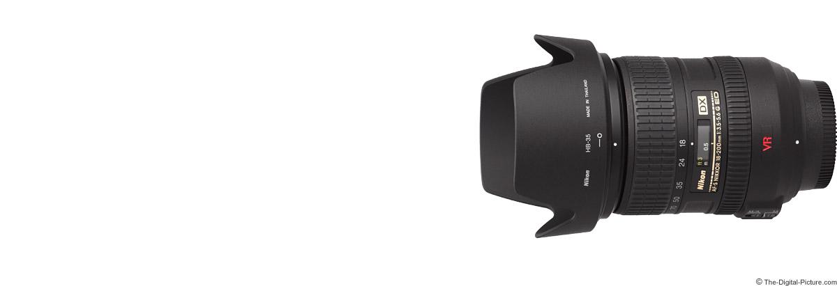 Nikon 18-200mm f/3.5-5.6G AF-S DX VR Lens