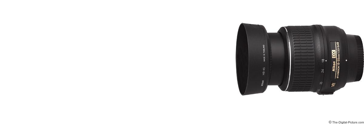 Nikon 18-55mm f/3.5-5.6G AF-S DX VR Lens