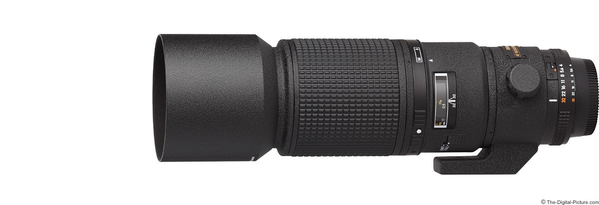Nikon 200mm f/4D AF Micro Lens