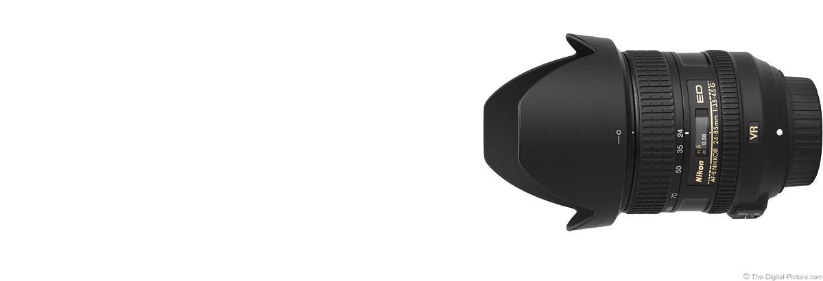 Nikon 24-85mm f/3.5-4.5G AF-S VR Lens